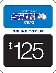 $125.00 airtime credit
