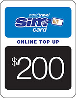 $200.00 airtime credit