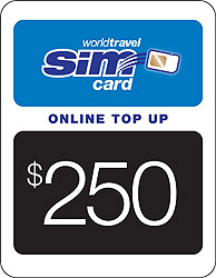 $250.00 airtime credit