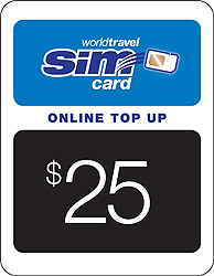 $25.00 airtime credit