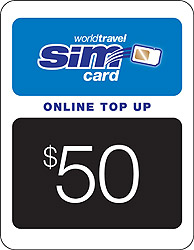 $50.00 airtime credit