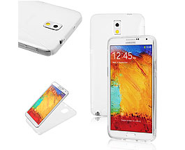 Galaxy Note 3 Soft Gel Skin Case Silver