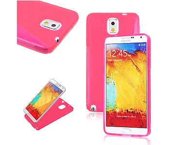 Galaxy Note 3 Soft Gel Skin Case Pink