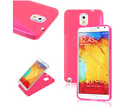 Galaxy Note 3 Soft Gel Skin Case Pink