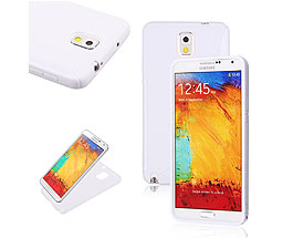 Galaxy Note 3 Soft Gel Skin Case White