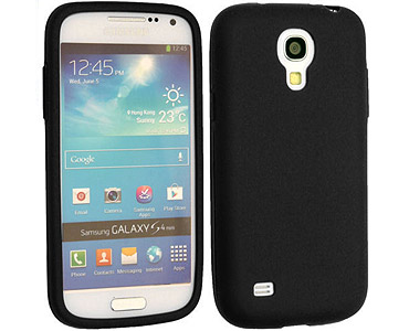 Galaxy S4 Silicone Case Black