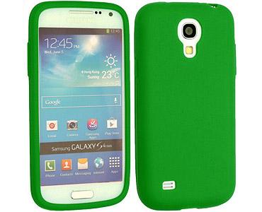Galaxy S4 Silicone Case Green
