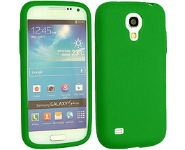 Galaxy S4 Silicone Case Green