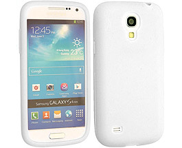 Galaxy S4 Silicone Case White