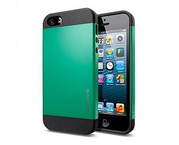 iPhone 5 & 5S Slim Armor Case Green