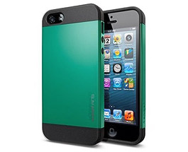 iPhone 5 & 5S Slim Armor Case Green