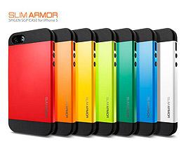iPhone 5 & 5S Slim Armor Case