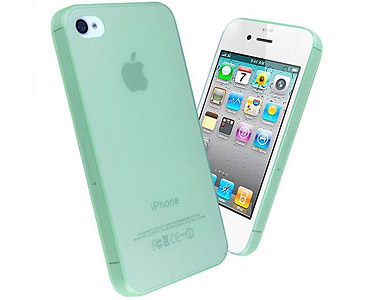 iPhone 5 & 5S Thin TPU + PC Case Green
