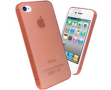 iPhone 5 & 5S Thin TPU + PC Case Pink