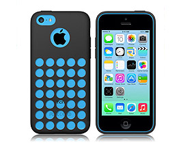 iPhone 5C Soft Gel Skin Case Black