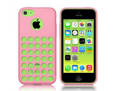 iPhone 5C Soft Gel Skin Case Pink