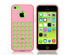 iPhone 5C Soft Gel Skin Case Pink