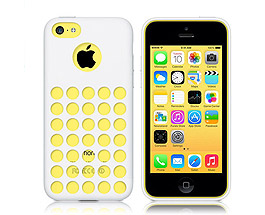 iPhone 5C Soft Gel Skin Case White
